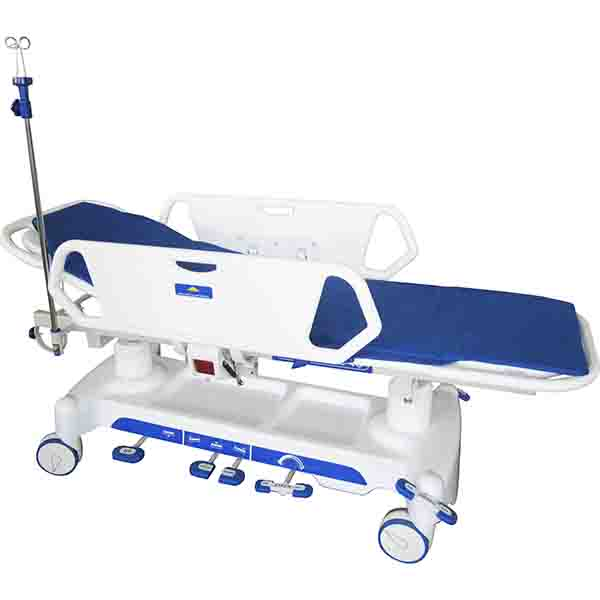 Luxurious Hydraulic rise-and-Fall Stretcher Cart XHL -03