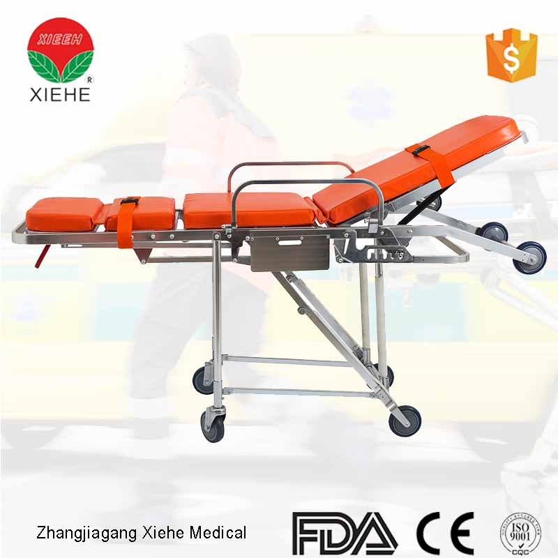 Aluminum Alloy Ambulance Stretcher YXH-3E